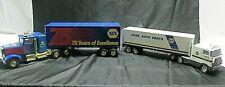Napa Truck and Box Trailer Toy & Napa 75th Anniversary Tractor/Trailer