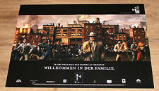 Black (video game) / The Godfather German Promo Poster 84x59.5cm Playstation 2
