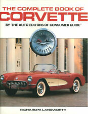 COMPLETE BOOK OF CORVETTE HBDJ 1953-1988 CHEVROLET RACERS STINGRAY SR-2 Z06 ZR1