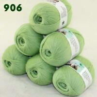 Sale Lot of 6 Skeins x50g LACE Soft Acrylic Wool Cashmere hand knitting Yarn 906