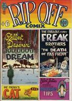 RIP OFF COMIX #6, 1980, 9.0 VF/NM, Wonder Wart-Hog, Freak Brothers ~ UNDERGROUND