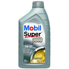 2x Mobil Super 3000 Formula F 5W-20 Synthetic 1L Car Engine Oil Lubricant 152866
