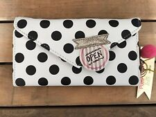 Disaster Designs black and white spot purse