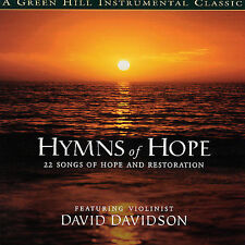 Hymns of Hope David Davidson Violin CD 2002 NEW! 60+ min 22 tracks SEALED!