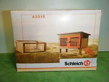 SCHLEICH RETIRED RABBIT HUTCH #42019 *NEW*