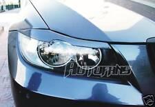Casquettes Paupières de phare PEINT pour BMW E90 E91 Schwarz noir uni 668