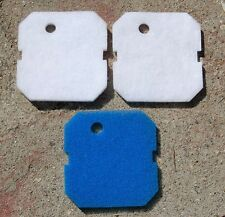 3 Pieces Jebao 404/304 Canister Filter Replacement Filter Pad Fine & Coarse