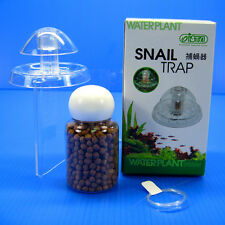 ISTA SNAIL TRAP + free bait for aquarium fish plants tank Planarian leech Catch