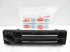 NEW GENUINE 85-86 VW MK2 Golf 17691938301C A/C Heater Control Switch Plate Panel