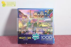 Buffalo Games Night and Day: Raining in Paris Jigsaw Puzzle - 1000pc