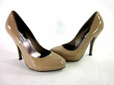 STEVE MADDEN WOMEN'S OLYMPICC PLATFORM PUMPS BLUSH PATENT LEATHER US SIZE 8.5 M