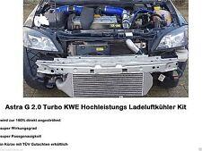 Performance Tuning Ladeluftkühler Opel Astra G 2.0 Turbo Set Kit KWE