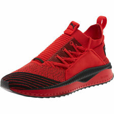 PUMA TSUGI  X  FUBU BHM - 367441 01 - Junior Men's Shoes - Red Black - Size 7 C