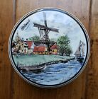 POLYCHROOM+Ceramic+Handpainted+Made+in+Holland+jar+bowl+trinket+box+windmill