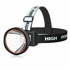 ODEAR Super Bright Adjustable Rechargeable Headlamp Flashlight Torch HeadLamp