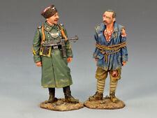King & Country WS142 Cossack Feldgendarmerie with Prisoner - Collectors Showcase