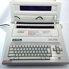 Smith Corona Personal Word Processor Electric Typewrite Model Pwp2000 Extras