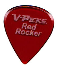 V-Picks Guitar Pick 1 (One) Red Rocker vpick vpicks