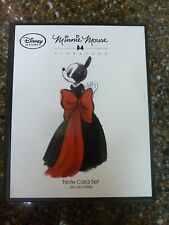 Disney Store Minnie Mouse Notecard Set Signature Collection Sealed New