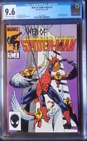 Web of Spider-Man (1985 1st Series) #2  CGC 9.6