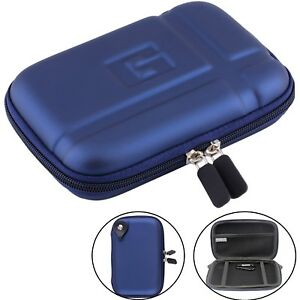 """5.2"""" Hard Shell GPS Case Pouch GPS Protective Cover For 5"""" TomTom Garmin Nuvi"""
