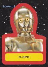 C-3PO Star Wars Journey to Last Jedi Retro Sticker Chase Card