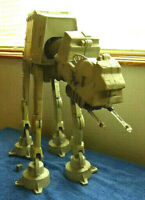 "Large 1997 Kenner 18""Tall by 21""Long AT-AT Imperial Walker with parts missing."