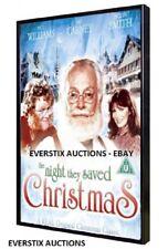 The Night They Saved Christmas (1984) TV Holiday Movie Art Carney Santa Claus
