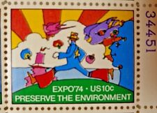 United States 10 Cents Expo'74 Preserve The Environment Us Postage Stamps