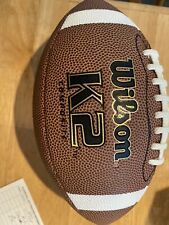Wilson K2 Pee Wee Football Composite Leather