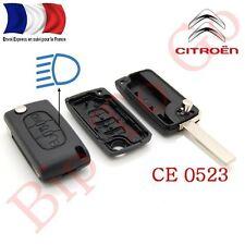 Plip coque télécommande plip 3 boutons phare Citroën C1,C2,C4,C8 Picasso CE0523