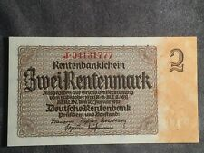 1937 2 MARK GERMANY VINTAGE BANKNOTE CURRENCY PAPER MONEY RARE ANTIQUE NOTE