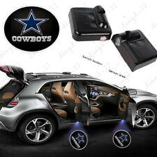 2x Dallas Cowboys Logo Car Door Welcome Spotlight Projector Shadow LED Light US
