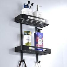 Non Rust Bath Corner Shelf Storage 2 Tier Shower Caddy Organiser Retangle