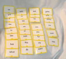 Hooked On Phonics Level 1 Replacement Flash Helper Cards **pick 1 Card***