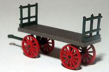 REA BAGGAGE CART ASSEMBLED READY TO GO RAILWAY EXPRESS AGENCY  O scale On30 #2