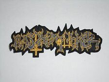 BLASPHEMOPHAGHER BLACK/DEATH METAL EMBROIDERED PATCH