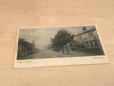 1928 Savage of Oxford Postcard High Street Wheatley