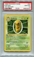 Pokemon Base Set 1st Edition Uncommon Card #33/102 Kakuna