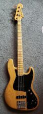 Fender Marcus Miller Jazz Bass Natural , Active EQ, Japan CIJ/ Hardshell Case!