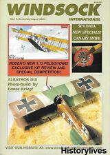 Windsock International V19 V4 Albatros Savoia Pomilio Canary Snipe Felixstowe