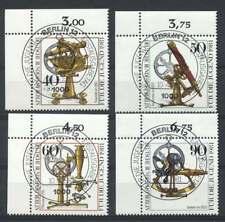 Berlin Nr. 641-644 gestempelt, LUXUS Eckrand, Ecke 1 (42353)