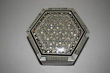 HANDMADE MOTHER-OF-PEARL JEWELRY BOX FROM EGYPT (EGP 002-02-01)