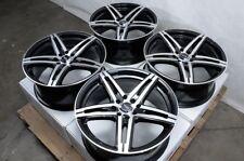 "15"" Wheels Rims Black Polish 4 Lugs Fit Nissan Versa Sentra Corolla Prius Civic"