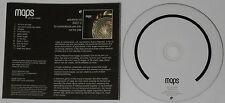 Maps  We Can Create  2007 Mute U.S. promo cd  -Rare!