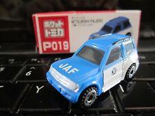 Tomica Taito Prize Half Size P019 Mitsubishi Pajero JAF Japan Auto HO Scale 1:87