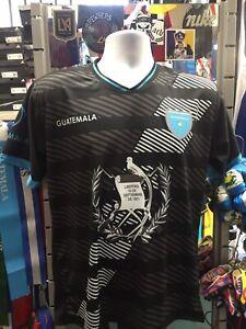 Guatemala Centenario Black White Blue Classic Jersey Size 3XL Men's Only