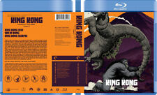King Kong Collection 1933-2005 Custom Blu-ray Covers W/ Empty Case (No Discs)