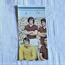 CALCIATORI PANINI 1974/75 Figurina n°274 ALBERTOSI BET TURONE MILAN NEW