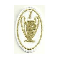 [Patch] CHAMPIONS LEAGUE 1 versione oro cm 5 x 7,5 toppa REPLICA ricamo -165